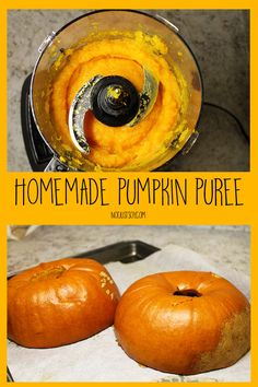 Halloween may be over, but I refuse to give in to winter just yet. Autumn is still here, and that means pumpkin season is too. The day before Halloween, my husband and I drove out to our local farm to find some pumpkins to carve, … Homemade Pumpkin Puree, Sugar Pumpkin, In The Flesh, Tray Bakes, My Recipes, Sweet Potato, Food Processor Recipes, Baking, Vegetables