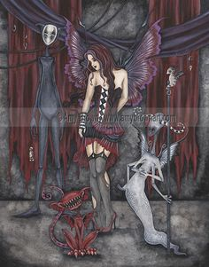 Amy Brown: Fairy Art - The Official Gallery The Shadow Court
