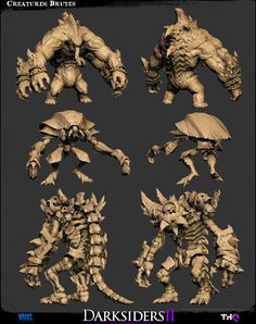 The Character Art of Darksiders II