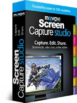 Capture Streaming Videos/Webinars with Movavi Screen Capture Studio