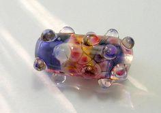 Handmade Lampwork Dragon Skin Bead