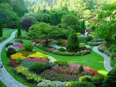 revisit or wedding buchard garden, canada!! everyone needs to go!