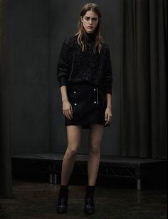 AllSaints Lamma Sweater, AllSaints Elmore Boot, AllSaints Manner Skirt