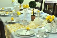 Mother Daughter Tea Party Decorations  Ideas @Amber Johnson Overflowing  Source
