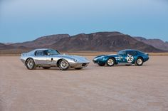 Shelby Cobra Daytona Coupe 50Th Anniversary Side By Side - Provided by MotorTrend