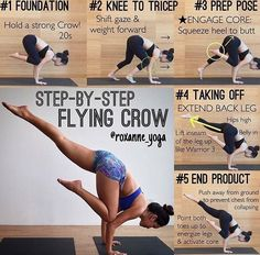 Yoga pose perfect for balance