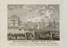 Desembarque de D. João VI em Lisboa - João VI de Portugal – Wikipédia, a enciclopédia livre