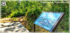 """A Frigid Crossing""- Trail of Tears Wayside Exhibit- Waynesville, Missouri"