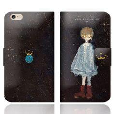 宇宙少年 iPhoneケース手帳型
