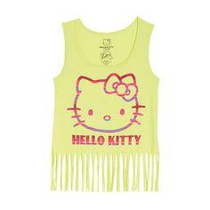 Hello Kitty Fringe Tank