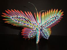 Stumbled upon this while looking for instructions for how to make an origami butterfly. Wow!