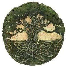 El árbol celta de la vida. <3 love the knot