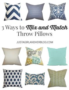 I never know which combination of pillows to pick-- this makes it easy