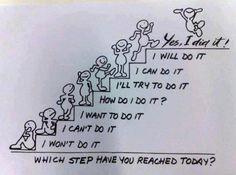 steps to reach
