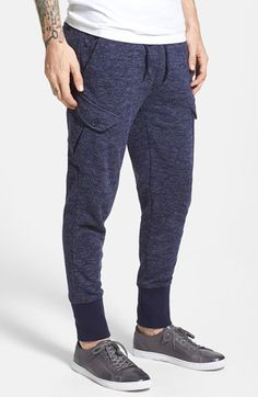 CAREGIVER - New Standard Edition 'Carter' Tailored Slim Fit Knit Cargo Jogger Pants | Nordstrom