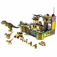 The LEGO Dino Defense HQ is a really nice gift for boys... #boysgifts #lego #gifts
