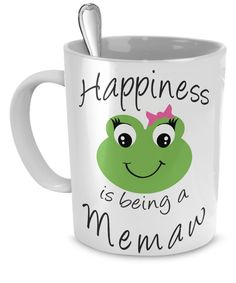 Happiness is being a Memaw - Mug White