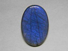 43x29 mm Exceptional Large Blue Labradorite Stone Top Grade
