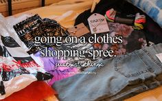 I usually save up for a month then me and my bff go on a shopping spree with like