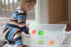 5 Simple Activities for Young Toddlers - Dirt and Boogers