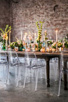 wedding table - photo by Kaitie Bryant Photography http://ruffledblog.com/stained-glass-inspiration-with-a-real-surprise-wedding