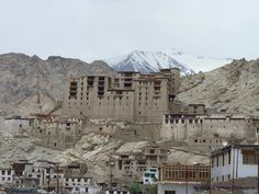 Leh Palace in Ladakh is one of the most fascinating architectural ruins.