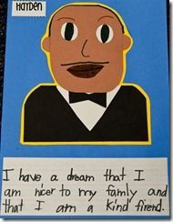 Dr. King & great egg analogy lesson