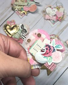 She's my favorite 🦢 : : : Scrapbook Paper Crafts, Scrapbook Cards, Scrapbooking Ideas, Paper Tags, Diy Paper, Baby Mini Album, Crate Paper, Candy Cards, Handmade Tags