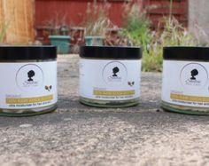 Pure Shea Butter Pack of 3 each Organic Unrefined Glass Jars, Candle Jars, Natural Hair Care, Natural Hair Styles, Hair Care Recipes, Tangled Hair, Organic Butter, Unrefined Shea Butter, Natural Moisturizer