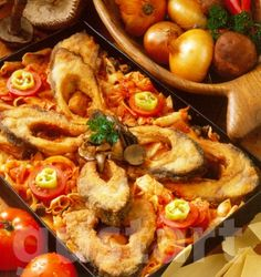 Hungarian Recipes, Hungarian Food, Paella, Cooking Recipes, Fish, Ethnic Recipes, Drink, Christmas, Diet