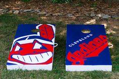 Cleveland Indians Cornhole Set