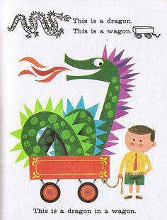 Dragon in a Wagon. John Martin Gilbert. 1966.