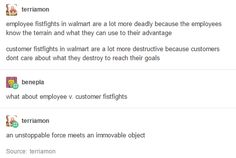Fistfighting in Walmart