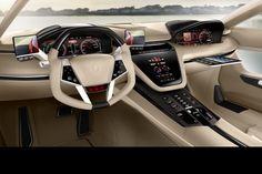 Futuristic Car, Italdesign Giugiaro Brivido Concept Car