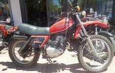 Moto Honda XL 250 1981