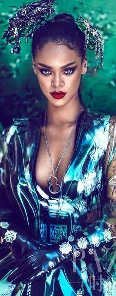 Rihanna ~ Harper's Bazaar China 2015 ༺ß༻