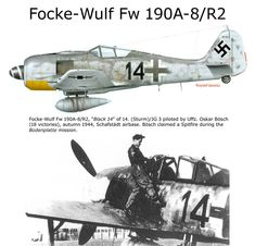 Focke Wulf Fw This version replaced the outboard 20 mm cannon with a pair of Mk 108 30 mm cannon Aircraft Photos, Ww2 Aircraft, Fighter Aircraft, Military Aircraft, Luftwaffe, Focke Wulf 190, Airplane Drawing, Camouflage, War Thunder