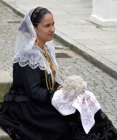 Portugal - the bride 'minhota' , north of Portugal