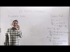 Derivative IB Math Product and Quotient Rule Calculus, Coaching, Ads, Training, Life Coaching