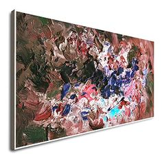 Amazon.com: Large Oil Painting Abstract Acrylic Painting Oil On Canvas Abstract Artwork Colorful Canvas Wall Art Oil On Canvas Paintings Modern Abstract Art Canvas Modern Canvas Art: Handmade