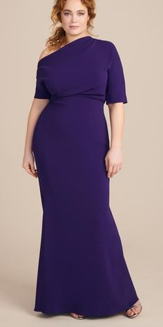 33 Plus Size Mother of the Bride Dresses - Alexa Webb 33 Plus Size M. - New Ideas Mother Of The Bride Plus Size, Mother Of The Bride Gown, Mother Of Groom Dresses, Mothers Dresses, Mob Dresses, Event Dresses, Dresses With Sleeves, Peplum Dresses, Fall Dresses