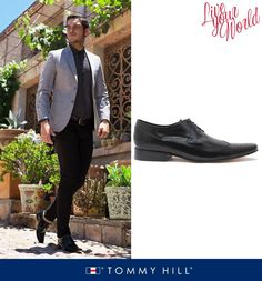 Los zapatos negros son imprescindibles para todo hombre, pueden ser usados con trajes negros, de color azul marino, trajes de etiqueta e incluso pantalones de colores si es que quieres vestir un poco más casual.