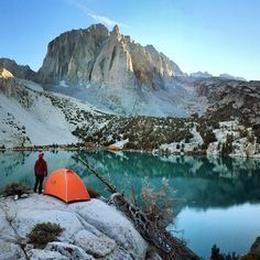 A perfect camp spot in the Eastern Sierras. Second Lake is one of the seven lakes located along Big Pine Creek. It is 5 miles in from the...