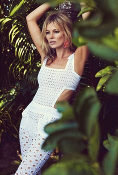 KATE MOSS Summer Retro for Vogue UK   Erika Brechtel   Brand Stylist