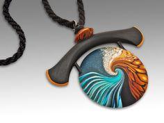 Ocean Sorano Pendant, for more information see www.LauraTimmins.com