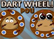 Pou Dart Wheel