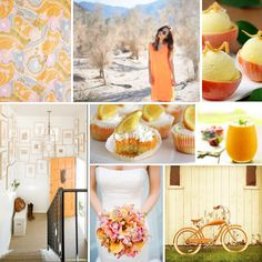 Mood Board Monday: Orange Sherbet (http://blog.hgtv.com/design/2014/04/28/mood-board-monday-orange-sherbet/?soc=pinterest)