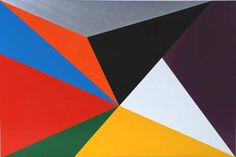 JOHN NIXON  Project for a Wall Painting   Colour Group E (Random), 2008  enamel on MDF  60 x 90 cm