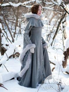 Mantel aus Wolle Die Nachfolgerin des Winters | Nachrichten, Nachrichten von Armstreet, mittelalter Bekleidung :: ArmStreet