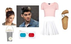 """""""Cinema with Zayn +Chloe Lynch"""" by the-real-trash-bin ❤ liked on Polyvore featuring Topshop, Rebecca Taylor, Birkenstock, Charlotte Russe, Kate Spade, women's clothing, women's fashion, women, female and woman"""